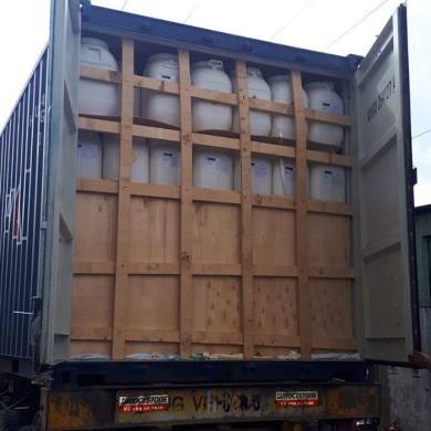TCCA (Trung Quốc), 25 kg/thùng